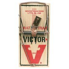 12 Victor M200 Rat Snap Trap Traditional Wooden Rodent Control Tramas Para Ratas
