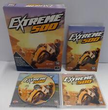 Computer Game Gioco Big Box PC CD-ROM ITALIANO Play ITA Corse Moto - EXTREME 500