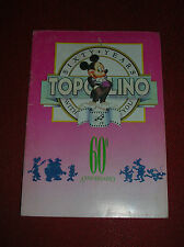TOPOLINO  60° ANNIVERSARIO - ALBUM  COMPLETO  CON  TUTTE  LE  FIGURINE