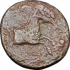 Kolophon in Ionia  350BC RARE Ancient Greek Coin Apollo Galloping horse i47264