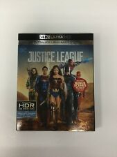 Justice League, 4K Ultra Hd, Blu Ray, & Digital, Brand New Sealed!