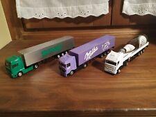 Camiones escala 1:87 Man y Mercedes