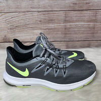 Nike Quest Men's Size 9 Running Shoes AA7403 007 Cool Grey Lime Blast Black
