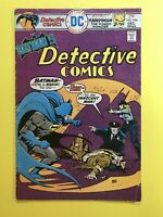 DETECTIVE COMICS #454 BATMAN faces Set-Up CAPER to wipe him out! DC 1975