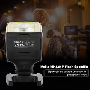 Mini Schermo LCD girevole Meike MK320-P TTL Speedlite Flash per Olympus .