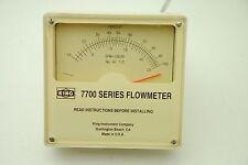 King Instrument 771123T-722, 7700 Series Flowmeter, 1500PSI
