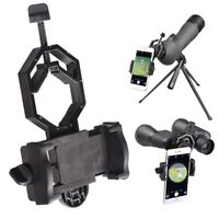 Telescope Mobile Phone Adapter Microscope Mount Holder Spotting Scope Binocular