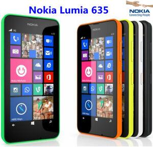 "Refurgished New Unlokced Nokia Lumia 635 Smartphone 4.5"" Quad Core 8G 5.0MP LTE"