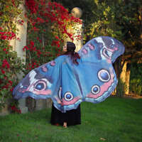 Fashion Lady Women Soft Butterfly Wing Cape Dress Scarf Long Wrap Shawl Scarves