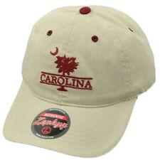 hot sale online bd322 e49c1 NCAA Zephyr South Carolina Gamecocks Beige Hat Cap Adjustable Garment Wash