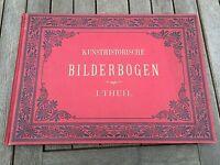 kunsthistorische bilderbogen .1883 ( large format )