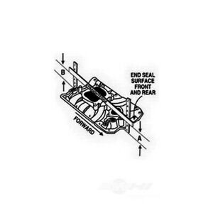 Engine Intake Manifold Performer RPM 302 Edelbrock 7121