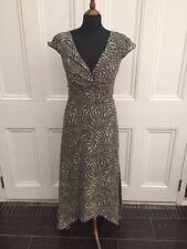 John Lewis swing dress with shaped hem line, size 10