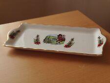 Vintage James Kent Ltd Old Foley Scotland Sandwich Tray ~ Scottish Piper.