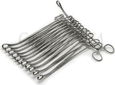 """12 Sponge Forceps 9.5"""" Curved Surgical Instruments"""