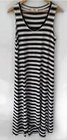 MELA PURDIE Beautiful striped Great cut maxi midi Dress Size M