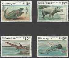 Timbres Préhistoire Nicaragua PA1191/4 ** lot 1804