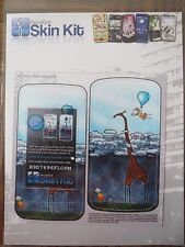 DecalGirl Skin Kit - ABOVE THE CLOUDS - fits LG Optimus m