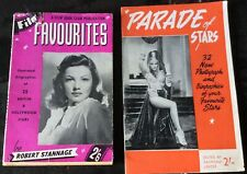 2 Mid 20th Century Film Star Magazines