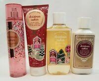 Bath & Body Works CHRISTMAS COOKIES Mist Cream Lotion Shower Gel  You Choose