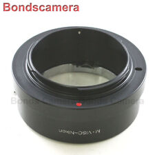 Leica Visoflex M mount Viso lens to Nikon F Mount Camera Adapter D90 D750 D7000