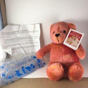 Bright Avon Talking Valentino The Love Bear Plush Stuffed Animal Toy Cute NWB