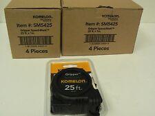 Komelon SM5425 25ft. x 1in. Speed Mark Gripper Tape Measure Buying 8 pcs