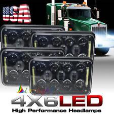 "60W 4x6"" LED Headlights for Kenworth T400 T600 T800 W900L W900B Classic 120/132"