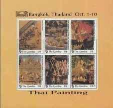 Timbres Arts Tableaux Gambie 1493/8 ** année 1993 lot 20256