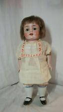 """Huge 10 1/2"""" all bisque Kestner German doll mold # 208"""