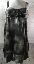 Bcbg Maxazria Dress Beaded Straps Size XL