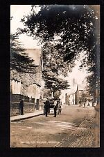 Heswall Village - real photographic postcard