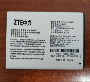 Original Li3822T43P3h675053 2200mAh 3.8V Battery For ZTE Blade A430 Warranty100%