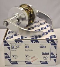 """PDQ COMMERCIAL LOCKSET SD-176 BSN SD PRIVACY 2 3/4"""" BACKSET 26D"""