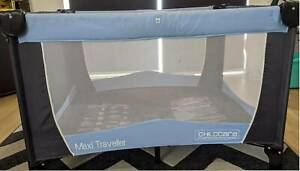 3-in-1 Travel Cot - portable and foldable - Childcare Retro Sport