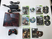 Limited Edition Gears Of War Xbox 360 Video Game Console Games Job Lot Bundle