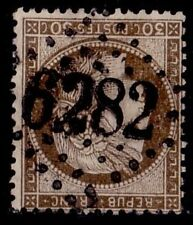 N°56 - GC6282 BUREAU SUPPLEMENTAIRE - MEURTHE - PARROY - RARE GROS CHIFFRE..