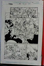 NEW LISTINGX-MAN ISSUE 52 PAGE 11 1999 ORIGINAL COMIC ART BY LUKE ROSS & BUD LAROSA-ACTION Comic Art
