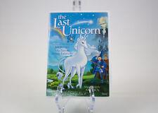 The Last Unicorn: Jeff Bridges, Mia Farrow, Angela Lansbury - DVD. '04 | USED