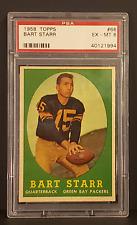 1958 Topps Football BART STARR #66 PSA 6