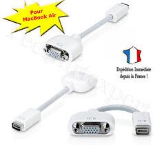 Mini DVI vers VGA moniteur vidéo câble adaptateur pour MacBook Air adaptateur