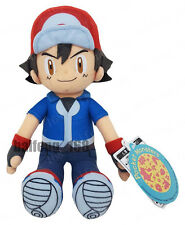 2017 NEW! Pokemon Go Ash Ketchum  Plush Soft Teddy Stuffed Dolls Kids Toy 30cm