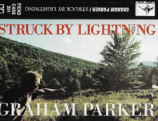 GRAHAM PARKER STRUCK BY LIGHTNING CASSETTE ALBUM ROCK POP Garth Hudson FIEND 201