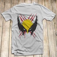 X-Men Wolverine Men's T Shirt 100% Cotton S-5XL Made In USA Logan Marvel Comics