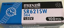 5pcs New Maxell SR621SW (364) Battery -(Free Shipping Worldwide) EXP.Date: 2020