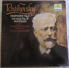 Tchaikovsky Symphony 6 - Mravinsky - Leningrad Philharmonic O (LP 1974) 2538 180