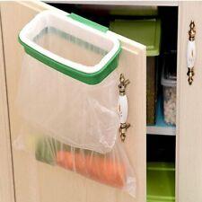 Holder Under Sink Mounted Cabinet Trash Stand Over The Door Garbage Hanging Bag