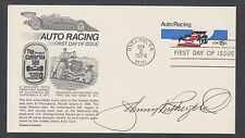 Johnny Rutherford, American Auto Racer, signed 15c Auto Racing FDC