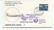 1974 First Flight Boeing 747 JL 406 Japan Air Lines Polar Antarctic Cover