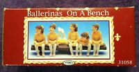 1997 🔥BALLERINAS🔥 on a Bench *Young's Figurine* in Original Box with FREE SHIP
